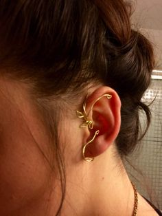 Our Version of Belles Ear cuff Beauty and the Beast