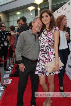 John Savage and Blanca Blanco attending the Hollywood Film Festival.