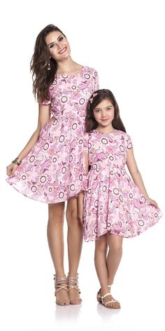 Vestido Floral Infantil | OLIVIAS TAL MÃE TAL FILHA | Olivias