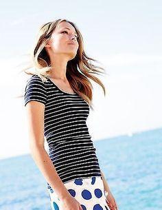 3bc932db52d (eBay link) BRAND NEW BODEN Essential Short Sleeve Tee UK 10 #fashion #