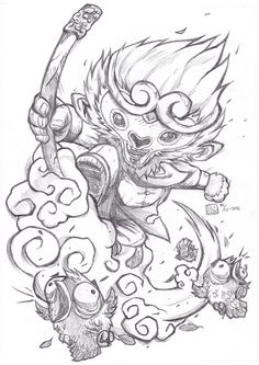 Monkey King by OLIGOW