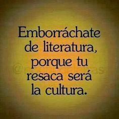 La lectura... ¿qué decir sobre ella? Es felicidad, al encontrar un buen libro; es cultura, al educarte entre líneas; es sabiduría, al ap...