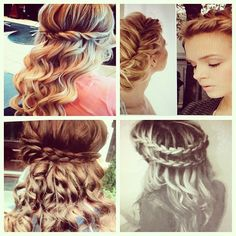 Guys #help me pick which #hairstyle for #prom