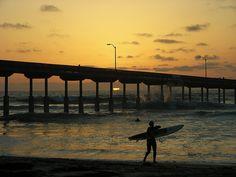 Ocean Beach, San Diego, California.