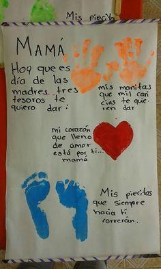 Día de la madre #manualidadesinfantiles