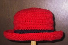 ROLL BRIM HAT: Free Crochet Pattern