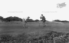 Golfing nostalgia - a nostalgic photo feature from Frith 200 Yards, Cromer, Prince Of Wales, Play Golf, Golf Clubs, Good Times, Ticket, Golf Courses, Nostalgia