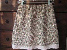 So cute!  Inexpensive-skirt-tutorial