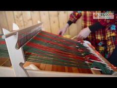 МАСТЕР-КЛАСС: Ткачество на ручном ткацком станке ОПТИМА-МИНИ /ЭКОЯР/ - YouTube