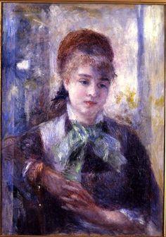 Ritratto di Nini Lopez di Pierre Auguste Renoir.