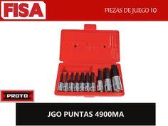 JGO PUNTAS 4900MA. Piezas en juego: 10-  FERRETERIA INDUSTRIAL -FISA S.A.S Carrera 25 # 17 - 64 Teléfono: 201 05 55 www.fisa.com.co/ Twitter:@FISA_Colombia Facebook: Ferreteria Industrial FISA Colombia
