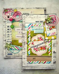 Andrea's sweet and charming art for the Simon Says Stamp Monday Challenge - Just a Pinch