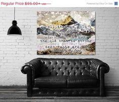 """All That Is Gold"" stretched canvas print by Jenndalyn Art #art #mixedmedia #collage #bohemian"