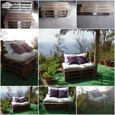 Pallets Sofa Lounges & Garden Sets Pallet Sofas