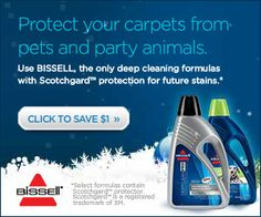 #Bissell Carpet #Cleaning Solution #coupon!  $1 off good thru 7/31/15. Get it: http://ooh.li/1360691 #ad