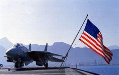 Flag on carrier