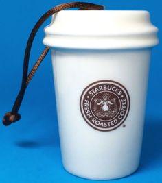 Starbucks-Coffee-Mini-Christmas-Ornament-1971-Holiday-White-Brown-Mermaid
