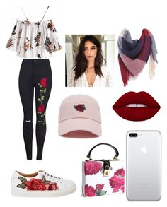 """flowers"" by laianeira ❤ liked on Polyvore featuring Forever 21"