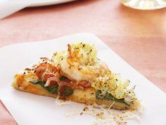 Pizza mit Garnelen - smarter - Zeit: 45 Min. | eatsmarter.de lecker!!