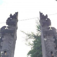 Tanah Lot Temple - detalhe do portal de entrada