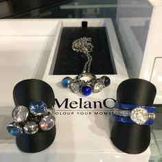 MelanO Twisted jewelry. Rings en neckless. #MelanO #ring #neckless #collier #ketting #sieraden www.bonibunita.nl