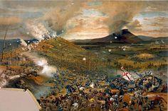 La batalla de Missionary Ridge , parte de la campaña de Chattanooga. Más en www.elgrancapitan.org/foro