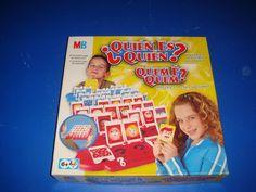 Juego de mesa en buen estado QUIEN ES QUIEN de MB juegos sin uso apenas