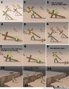 Jesus waits for You We start our life journey with Jesus. We get attracted to the 'FUN' of this world We say to Jesus: I wil. Christian Cartoons, Christian Memes, Christian Life, Bible Verses Quotes, Faith Quotes, Scriptures, Jesus Cartoon, God Jesus, Quotes About God