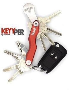 Schlüsselhalter und Einkaufwagenöffner in einem einzigen tool von Adlerline Helfer, Personalized Items, Design, Mushrooms, Shopping, Hang In There, Gifts