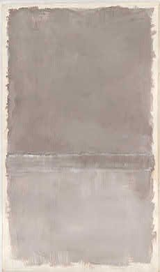 Mark Rothko, Untitled grey looks like this painting might have influenced tuymans use of tone Jackson Pollock, Rothko Art, Mark Rothko Paintings, Palette Pastel, Modern Art, Contemporary Art, Franz Kline, Willem De Kooning, Art For Art Sake
