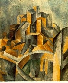 Pablo Picasso-cubism, my favorite period of his!
