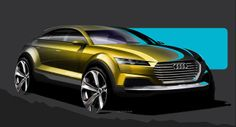 Carscoops: Audi Sketches Out Crossover Concept for Beijing, M...