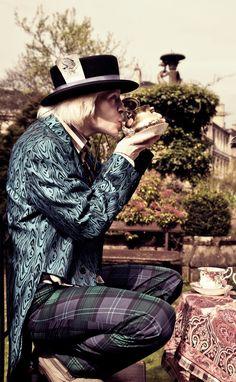 Alice in Wonderland: Malice in Wonderland Photo shoot (Stuart Crawford photographer) Mad Hatter Tea Party