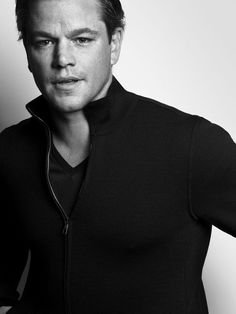 Matt Damon by Mark Abrahams ❥