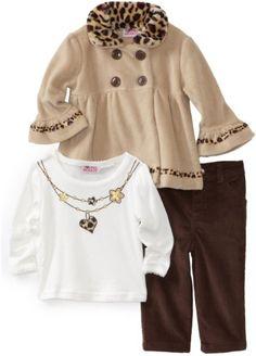 Young Hearts Baby-Girls Infant Leopard Fleece Set, Brown, 18 Months Young Hearts http://www.amazon.com/dp/B005FOAZ5G/ref=cm_sw_r_pi_dp_zyfWtb1ZEEWBJVDW