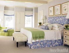 Blue & Green Bedroom