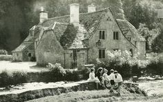 English cottage feature, National Geographic | April 1935
