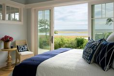 This home, designed by Martha's Vineyard Interior Design, has stellar views and…