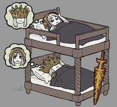 Bunk Bed Princes by emlan