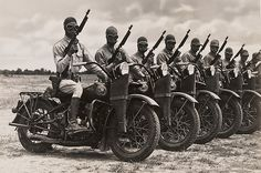 During the second world war, Harley-Davidson suspended almost its entire production of civilian motorcycles in favor of military production. Over 90,000 WLA's were used in the war effort.