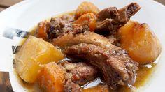 Costillas con patatas en Crock Pot