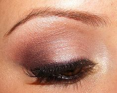 Brown smokey eye...I'd like it to be just a bit more subtle.