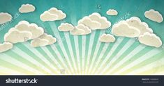 stock-vector-sky-with-clouds-vector-vintage-background-116858620.jpg (1500×792)