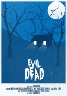 Stylized Classic Horror Movie Posters