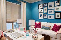 Blue walls, happy walls!