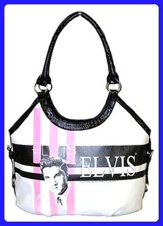b8d79101e4dac Elvis Presley Large Tote - Top handle bags ( Amazon Partner-Link) Large