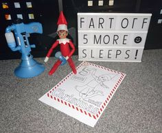 Elf on the Shelf has a fart gun