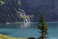 Lake Oeschinen in Zermatt, River, Mountains, Nature, Outdoor, Bucket, Switzerland, Morning Light, Day Trips