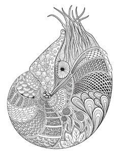 Oceana Mermaid ColoringMandala ColoringColoring Pages