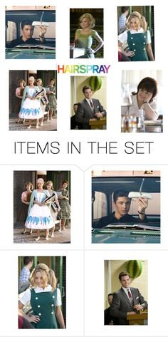 """""""Hairspray"""" by harry-potter-fan-4-life ❤ liked on Polyvore featuring art"""